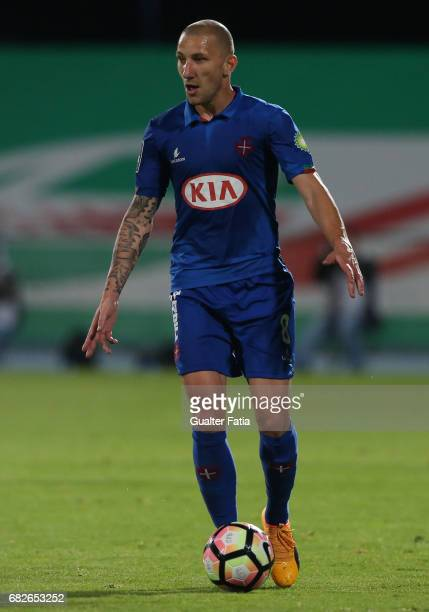 Belenenses's midfielder Andre Sousa from Portugal in action during the Primeira Liga match between CF Os Belenenses and Moreirense FC at Estadio do...