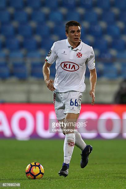 Belenenses's midfielder Joao Palhinha from Portugal during the match between Estoril Praia SAD and CF Os Belenenses for the Portuguese Primeira Liga...