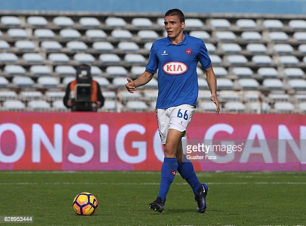 Belenenses's midfielder Joao Palhinha from Portugal in action during the Primeira Liga match between CF Os Belenenses and CS Maritimo at Estadio do...