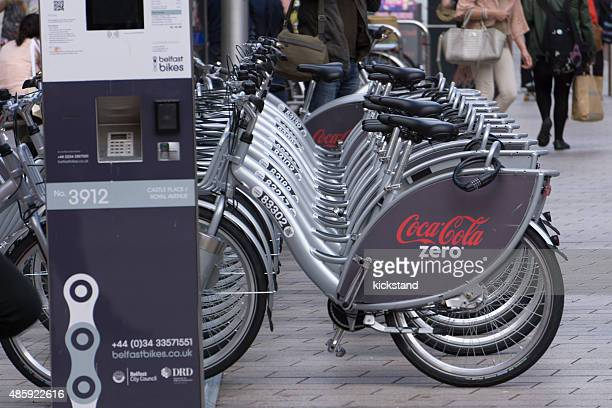 Fahrrad in Belfast
