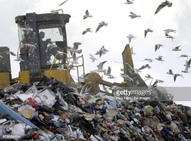A Belfast landfill site as a group of Northern Ireland local councils banded together to press home the importance of recycling household waste Five...