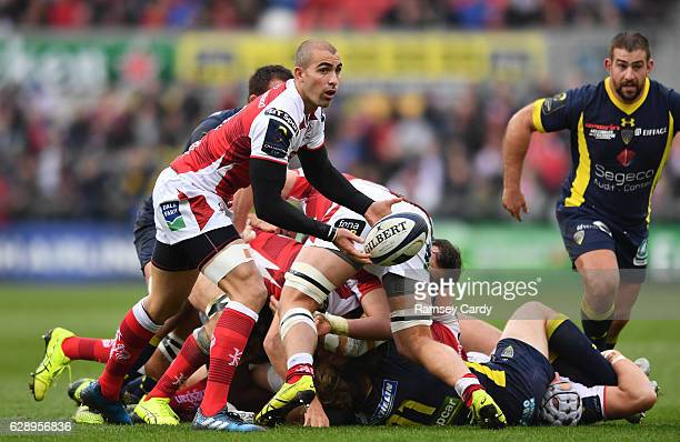 Belfast United Kingdom 10 December 2016 Ruan Pienaar of Ulster during the European Rugby Champions Cup Pool 5 Round 3 match between Ulster and ASM...