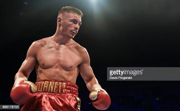 Belfast United Kingdom 10 June 2017 Ryan Burnett during his IBF World Bantamweight Championship bout with Lee Haskins at the Boxing in Belfast in the...