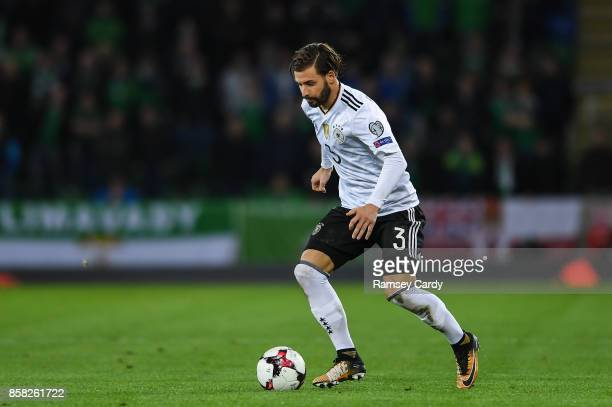 Belfast United Kingdom 5 October 2017 Marvin Plattenhardt of Germany during the FIFA World Cup Qualifier Group C match between Northern Ireland and...