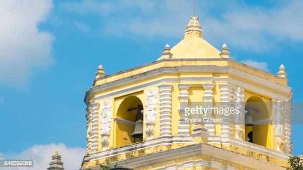 Belfry at Colonial church of Nuestra Señora de la Merced, Antigua, Guatemala