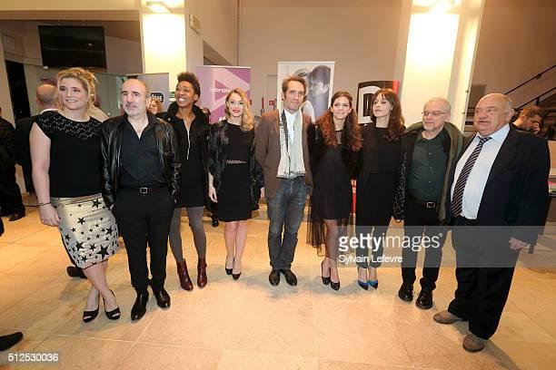 Belgian acress Natcha Regnier french director Philippe Harel writer Tania de Montaigne actress Joy Esther chilean director Cristian Jimenez romanian...