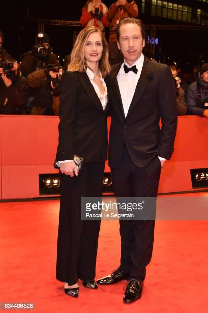 Belgian actress Cecile de France and French actor Reda Kateb attend the 'Django' premiere during the 67th Berlinale International Film Festival...