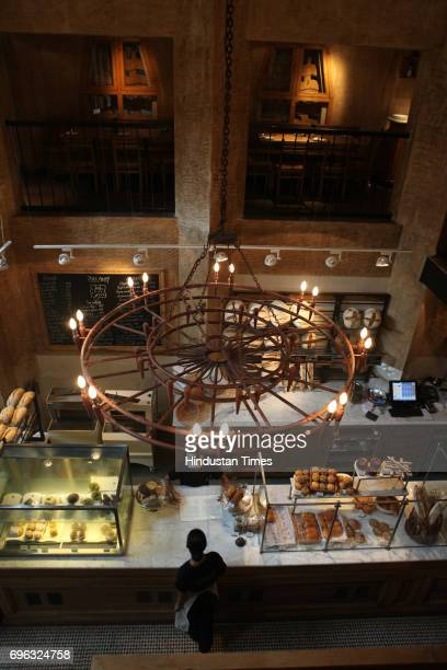 Belgian cafe in Colaba Le Pain Quotidien located in a Grade 3 heritage structure in Dhanraj Mahal near the Gateway of India