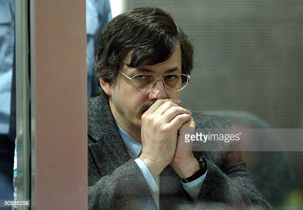 Belgian child rapist Marc Dutroux is seen in the dock during his trial 07 June 2004 at Arlon court The chief lawyer defending convicted child rapist...
