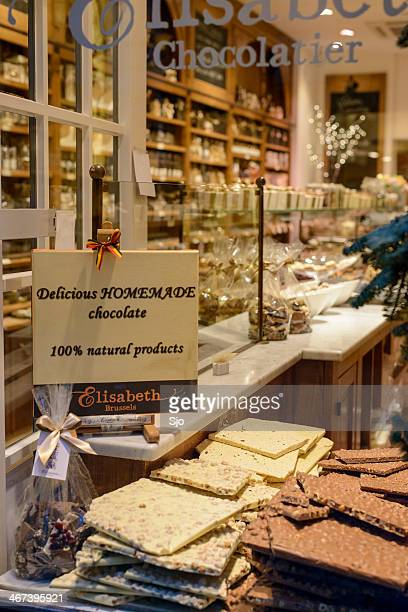 Belgian Chocolate store