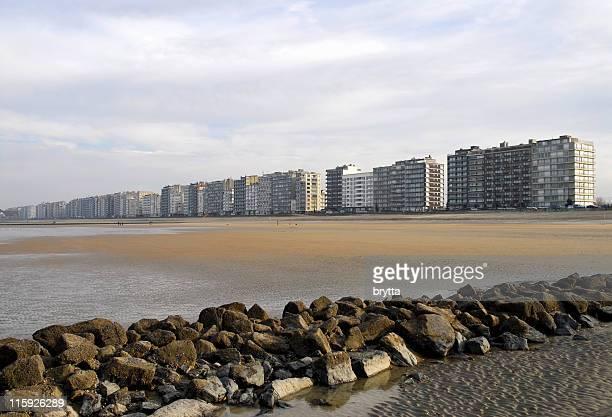 Belgian coastline