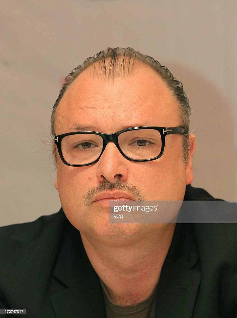 Belgian film director Frederic Fonteyne attends a press conference during the 16th Shanghai International Film Festival at Shanghai Film Art Center on June 17, 2013 in Shanghai, China.