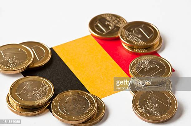 Belgian Flag and Euros