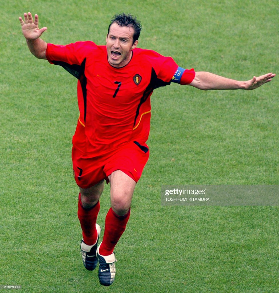 Image result for marc wilmots goal 2001