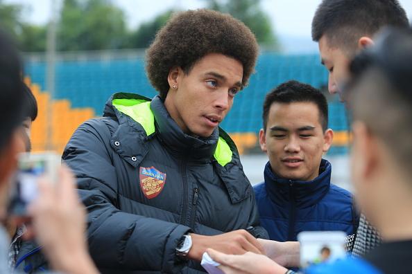 Tianjin Quanjian F.C. Training Session : News Photo