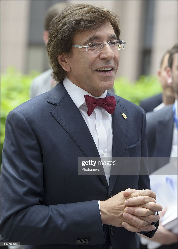 Belgian Prime Minister <a gi-track='captionPersonalityLinkClicked' href=/galleries/search?phrase=Elio+Di+Rupo&family=editorial&specificpeople=743705 ng-click='$event.stopPropagation()'>Elio Di Rupo</a> arrives at the European Summit on June 28, 2012 in Brussels, Belgium. Leaders are meeting to discuss the Multiannual Financial Framework, the European Semester and the European growth agenda.