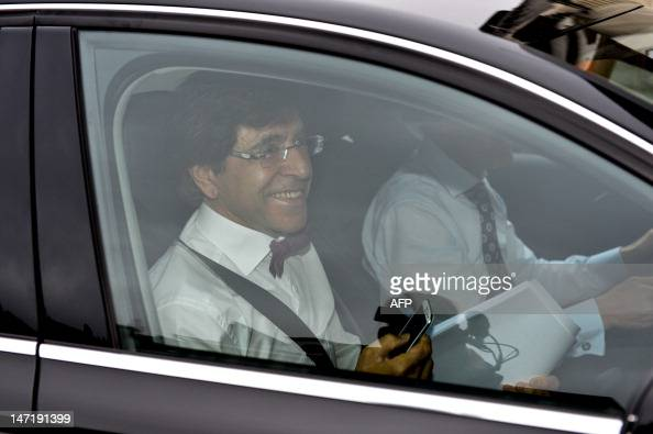 Belgian Prime Minister Elio Di Rupo arrives atfor a meeting of the Kern a restricted minister's council in Brussels on June 27 2012 AFP PHOTO / BELGA...