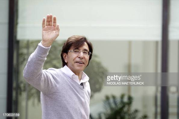 Belgian Prime Minister Elio Di Rupo arrives for a kern meeting a restricted ministers meeting on the budget at the Lambermont residence in Brussels...