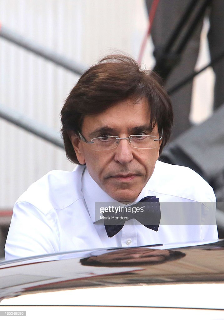 Belgian Prime Minister <a gi-track='captionPersonalityLinkClicked' href=/galleries/search?phrase=Elio+Di+Rupo&family=editorial&specificpeople=743705 ng-click='$event.stopPropagation()'>Elio Di Rupo</a> attends the State Funeral of the late Belgian Prime Minister Wilfried Martens at Sint Baafs Kathedraal on October 19, 2013 in Ghent, Belgium.
