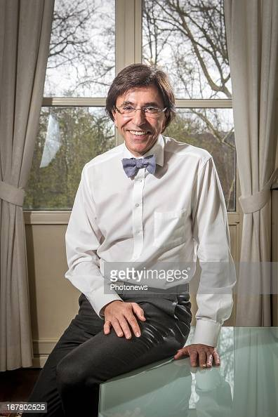 Belgian Prime Minster Elio Di Rupo poses during an interview on April 23 2013 in Brussels Belgium
