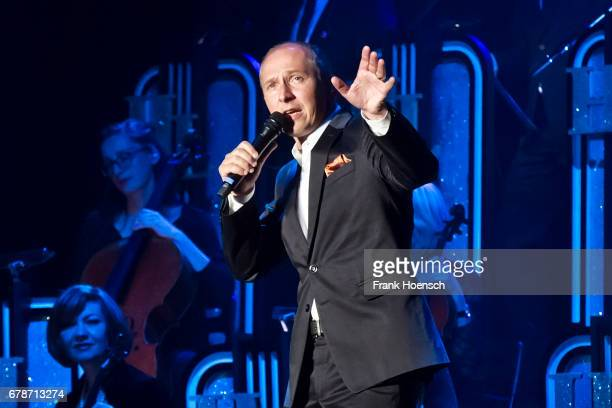 Belgian singer Helmut Lotti performs live on stage during a concert at the Tempodrom on May 4 2017 in Berlin Germany