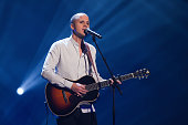 Belgian singer Milow performs during the Jose Carreras Gala Show at the Neue Messe on December 17 2009 in Leipzig Germany