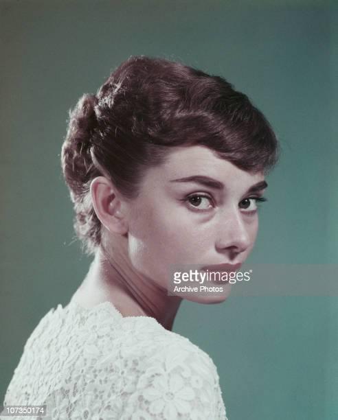 Belgianborn actress Audrey Hepburn circa 1955