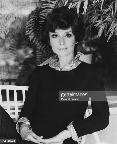 Belgianborn actress Audrey Hepburn circa 1975