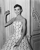 Belgianborn British actress Audrey Hepburn circa 1954
