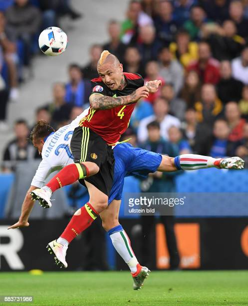 FUSSBALL Belgien Italien Emanuele Giaccherini gegen Radja Nainggolan