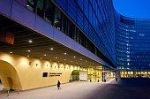 Belgium Bruessel Brussels Berlaymont building of the European Commission