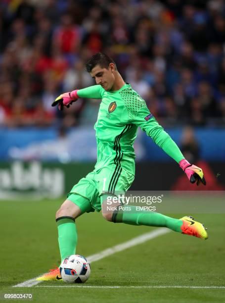 Belgium goalkeeper Thibault Courtois