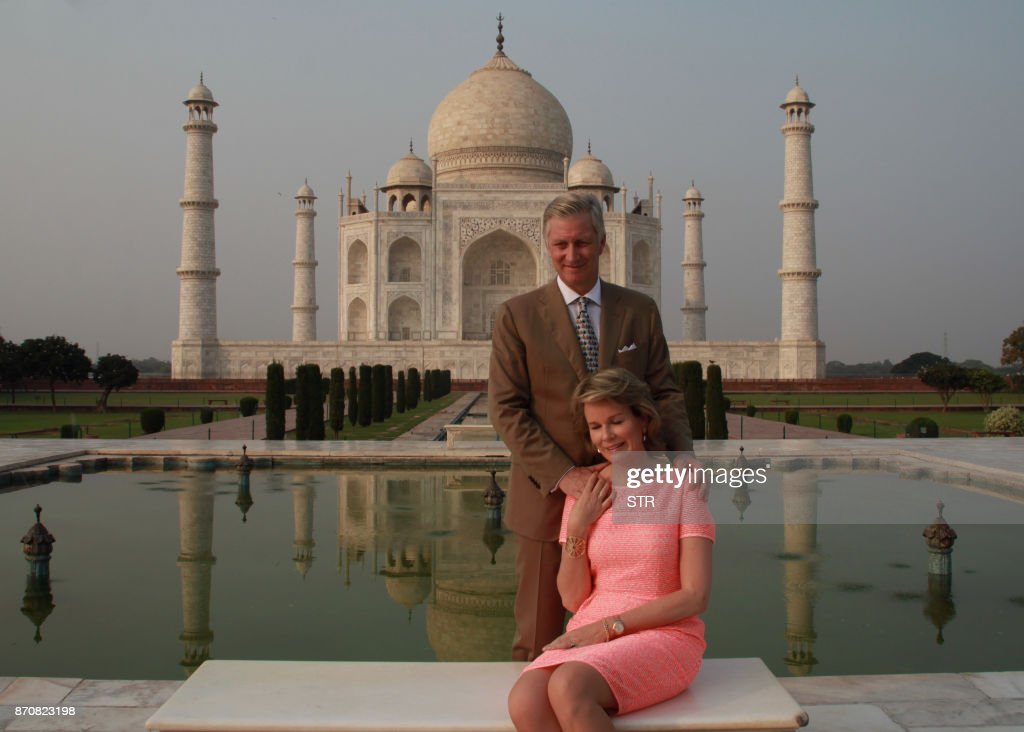 Belgium's King Philippe and Queen Mathilde on official visit to India