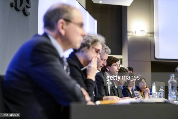 Belgium's Minister of Finance Koen Geens Minister of Employment Monica De Coninck Defence Minister Pieter De Crem Prime Minister Elio Di Rupo Budget...
