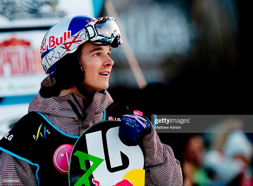 Belgium's Seppe Smith from Belgium competing in the LG Snowboard International Ski Federation in London