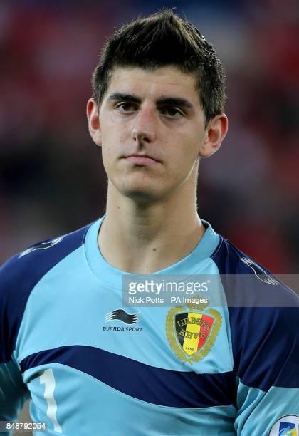 Belgium's Thibaut Courtois