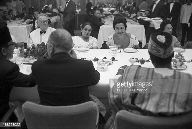 Belgrade First Conference Of The 24 NonAligned Nations En Yougoslavie à Belgrade lors de la première conférence des 24 nations nonalignées à l'hôtel...