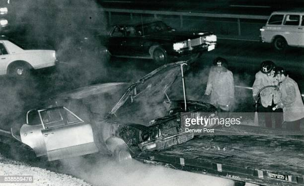 Believe it or not Mattress Caused this Heavy damage was reported to this 1970 Buick that caught fire about 750 pm Thursday on southbound Interstate...