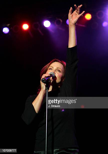 Belinda Carlisle of the GoGo's during The GoGo's and Morningwood Perform Live at the Greek Theater July 14 2006 at Greek Theatre in Los Angeles...