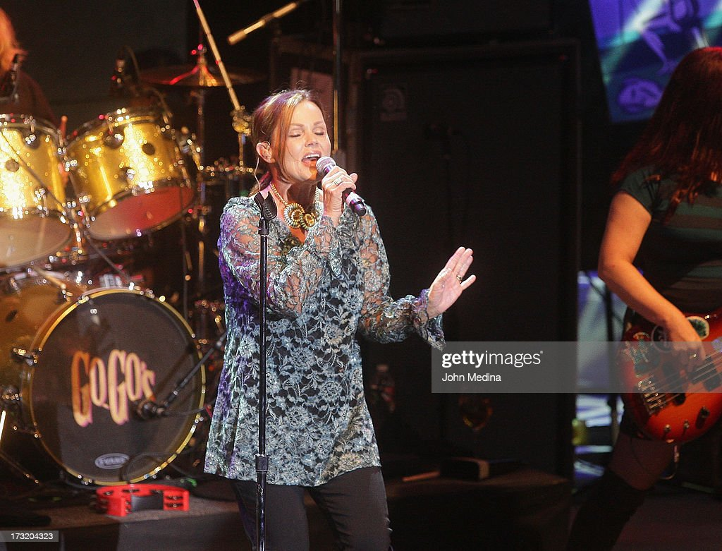 <a gi-track='captionPersonalityLinkClicked' href=/galleries/search?phrase=Belinda+Carlisle&family=editorial&specificpeople=627936 ng-click='$event.stopPropagation()'>Belinda Carlisle</a> of the Go-Go's performs at The Mountain Winery on July 9, 2013 in Saratoga, California.
