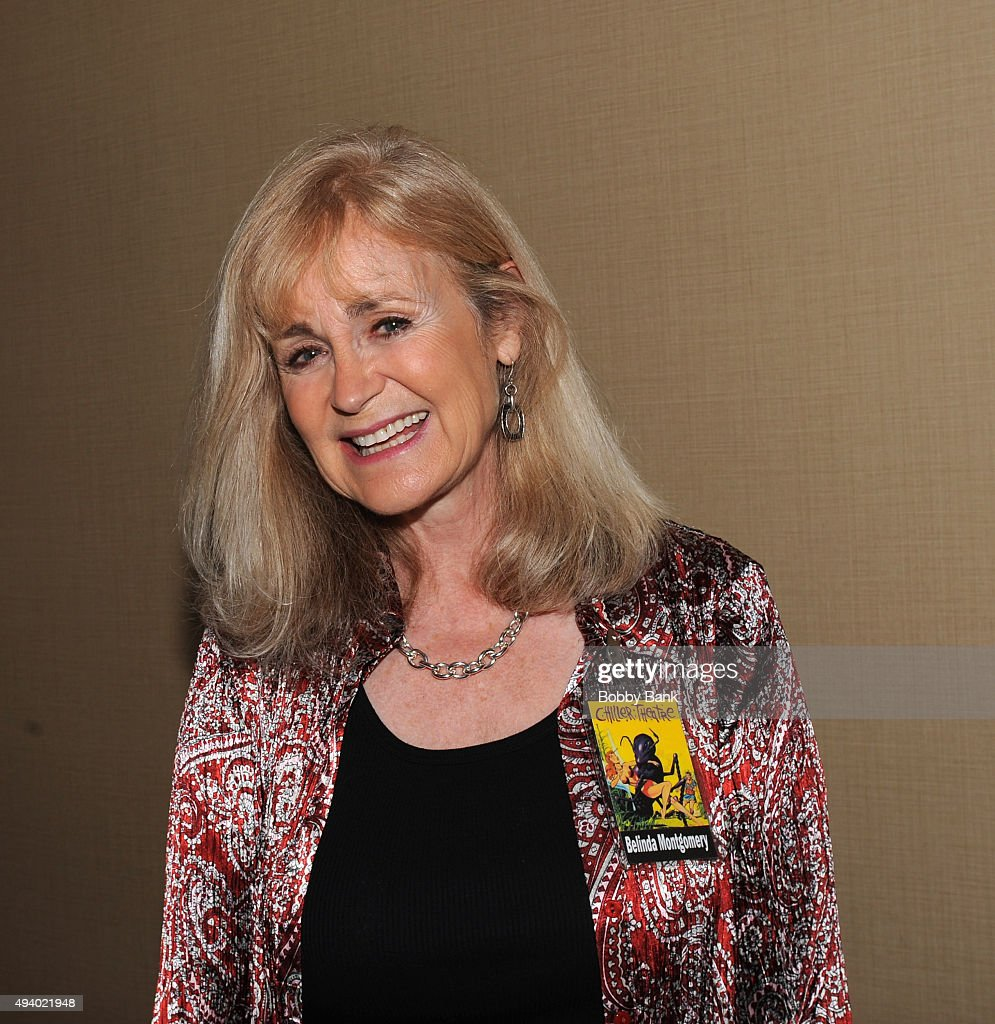 Belinda Montgomery attends Day 1 of the Chiller Theatre Expo at Sheraton Parsippany Hotel on October 23, 2015 in Parsippany, New Jersey.