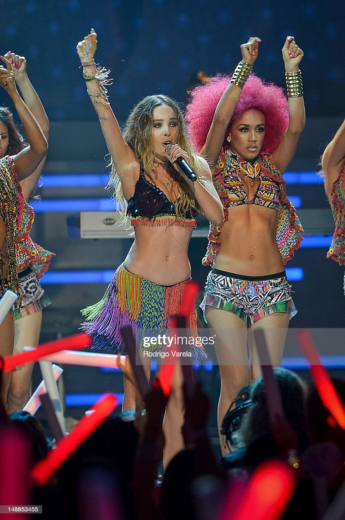 Belinda onstage during the Univision's Premios Juventud Awards at Bank United Center on July 19, 2012 in Miami, Florida.