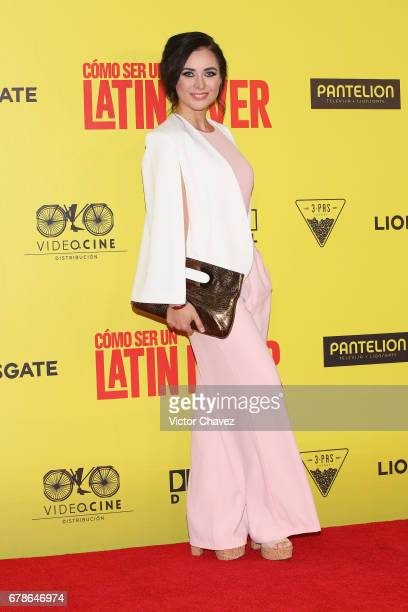 Belinda Trevino attends the 'How To Be A Latin Lover' Mexico City premiere at Teatro Metropolitan on May 3 2017 in Mexico City Mexico