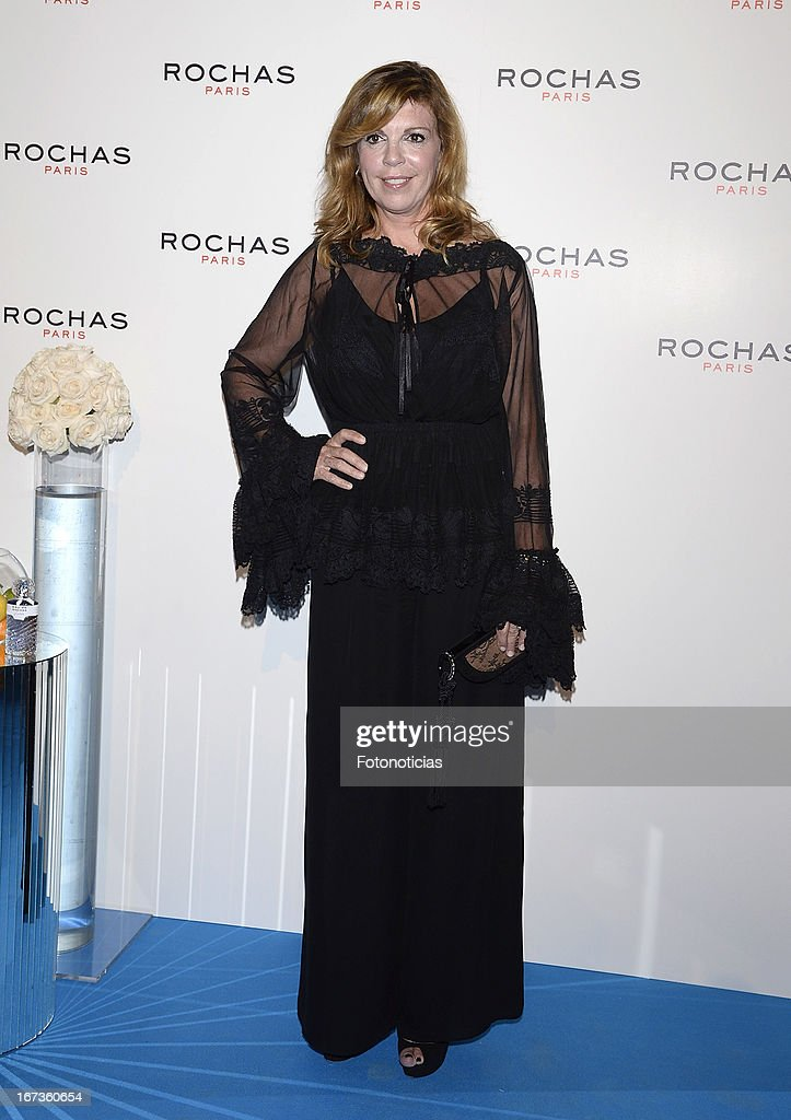 Belinda Washington attends 'Tribut to Freshness and Rochas Women' event at the French embassy on April 24, 2013 in Madrid, Spain.