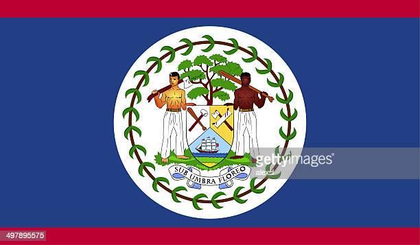 Belize drapeau