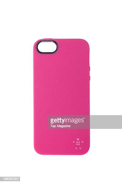A Belkin Grip Glam Matte iPhone 5 case photographed on a white background taken on March 6 2013