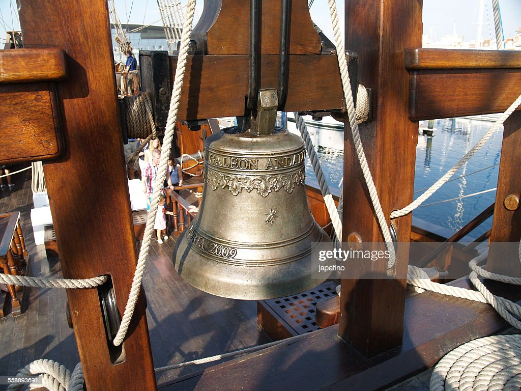 Bell at boat