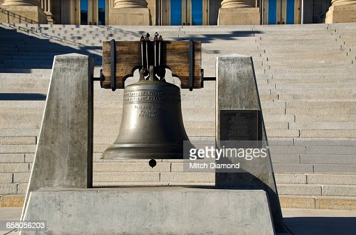 Bell at the Boise Idaho  Capitol building
