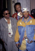 Bell Biv Devoe attends BMI Music Awards on May 21 1991 at the Beverly Wilshire Hotel in Beverly Hills California