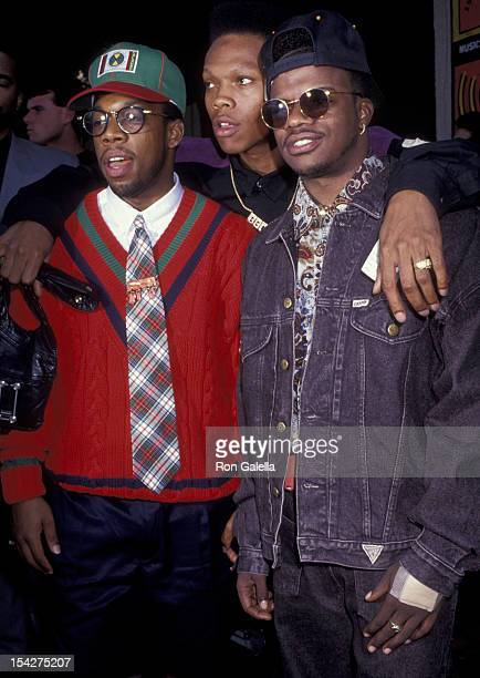 Bell Biv Devoe attends Eighth Annual MTV Video Music Awards on September 5 1991 at the Universal Ampitheater in Universal City California